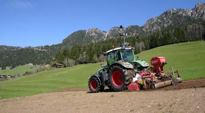 Rekultivierung in Alpbach
